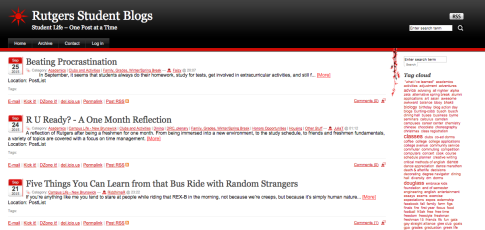 Multiple Blog Example